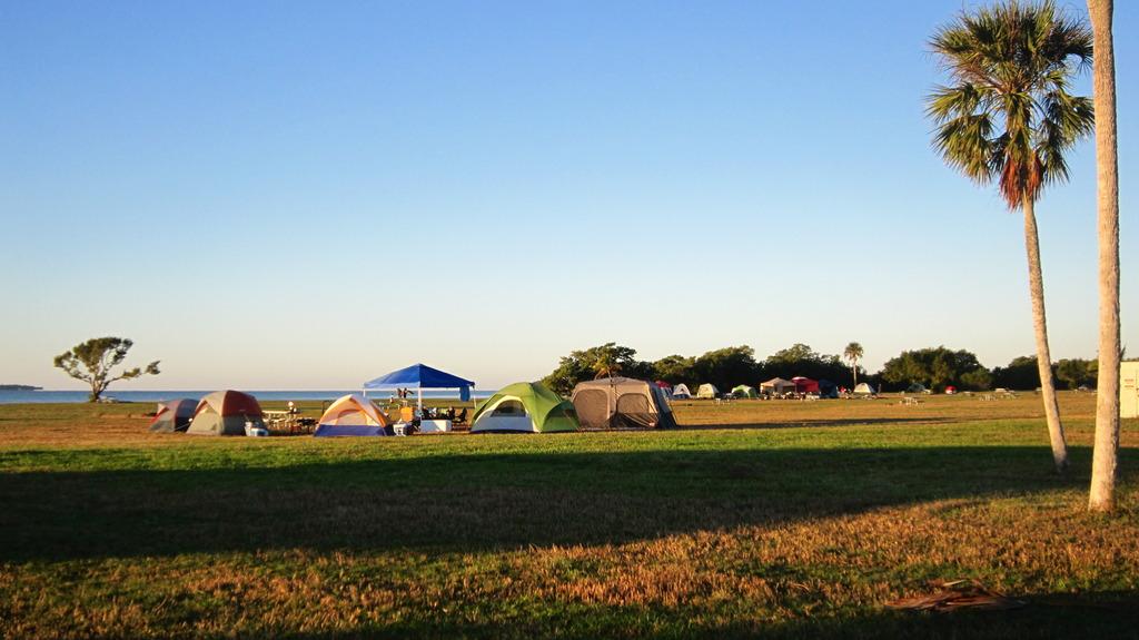 Open campsite